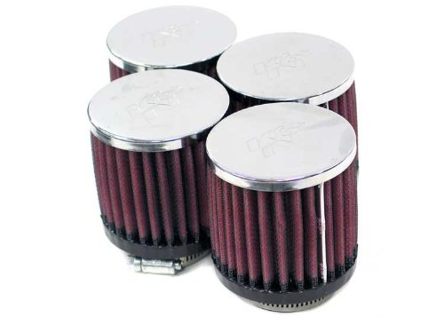 40 mm 76 mm Base; 3 in Height; 3 in 76 mm Top K/&N Engineering Flange ID; 3 in 76 mm K/&N RC-0874 Universal Clamp-On Air Filter: Round Straight; 1.562 in