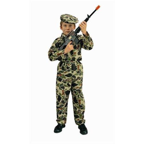 RG Costumes Commando Costume, Child Medium/Size 8-10