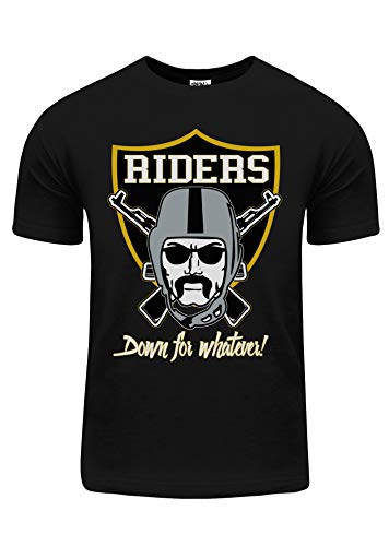 BU68_L Down for Whatever Riders Gold foil L