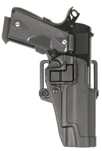 BlackHawk Serpa CQC Belt Loop and Paddle Holster For Glock 17/22/31 Right Hand - Hand Right Paddle Holster