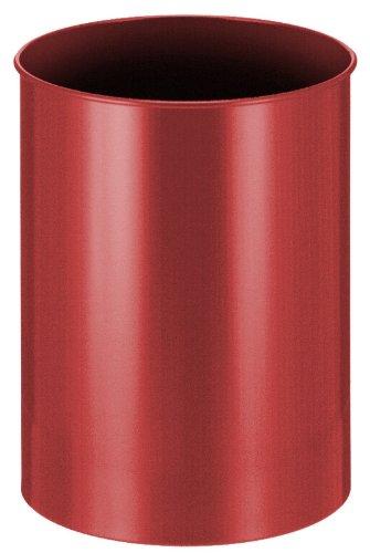V-Part Papierkorb aus Metall, 30 30 30 Liter, rot B007T93AFC Papierkrbe 920ed5