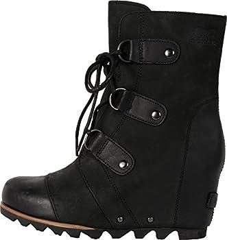 Sorel Women's Joan Of Arctic Wedge Booties, Black, 10 B(m) Us 1