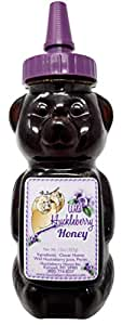 Wild Huckleberry Honey Bear 12.0 oz