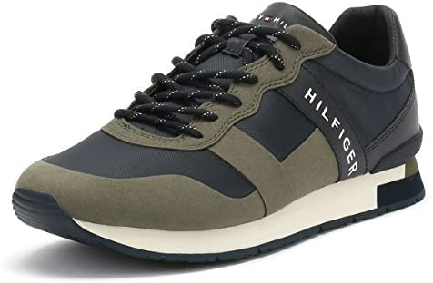 Tommy Hilfiger Mens Dusty Olive Green