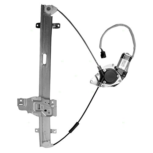 Passengers Front Power Window Lift Regulator with Motor Assembly Replacement for Honda Isuzu Pickup Truck 8972544520