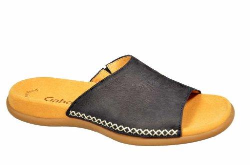 Gabor Shoes Gabor 4370521 - Zuecos de cuero para mujer azul - azul