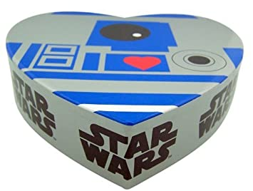 Star Wars Fan Valentines Day Gift R2D2 Robot Box Container With Gummy Heart  Candy