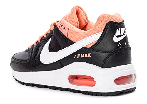 Nike Air Max Command Flex Leather (GS) Schuhe black-white-atomic pink - 36