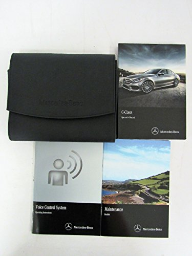2015 MERCEDES OPERATOR'S MANUAL SET FOR ALL C-CLASS C300 4MATIC AND C400 4MATIC SEDANS & WAGONS