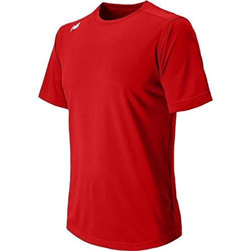 Nieuwe Balans Heren Nb Korte Mouw Wicking Tech Tee Shirt Probeer Tm Royal