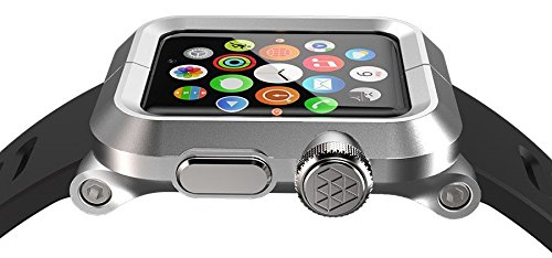 san francisco c23b9 73a5e LUNATIK EPIK Aluminum Case and Silicone Strap for Apple Watch ...