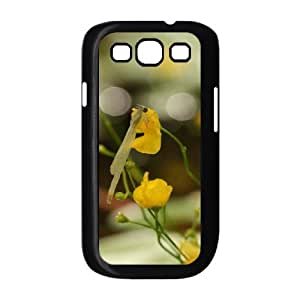 Samsung Galaxy S3 Cases Flower 43 for Women, Samsung Galaxy S 3 Case for Women [Black]