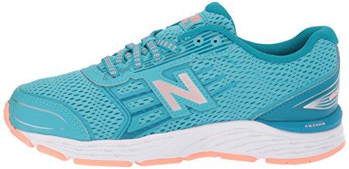 New Balance Girls' 680v5 Running Shoe, Ozone Blue/Fiji, 12 M US Little Kid by New Balance (Image #5)