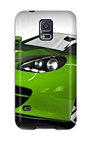 Unique Design Galaxy S5 Durable Tpu Case Cover Green 3d Carss