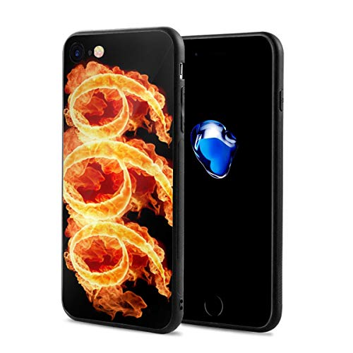 iPhone 7/8 Case Number 6 Anti-Scratch PC Rubber Cover Lightweight Soft Slim Printed Protective Case