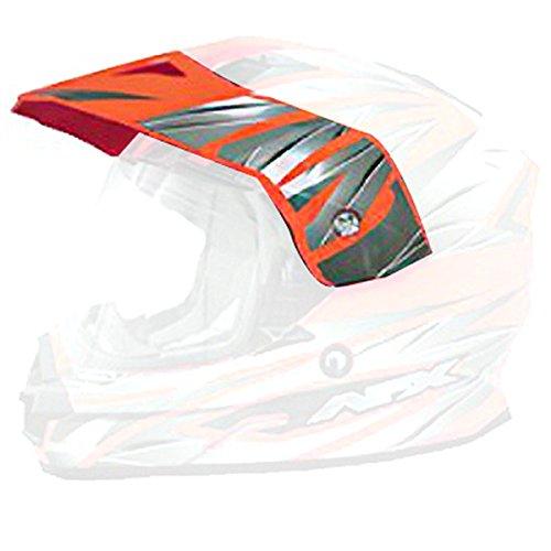 AFX Helmet Peak with Screws for FX-39DS Dual Sport - Safety Orange Multi 0132-0689