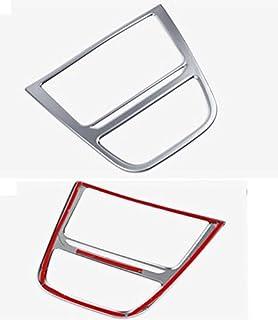 Emblem Trading Nebelscheinwerfer Zierleisten Blende Abdeckung Edelstahl Optik Mittelkonsole Armaturenbrett Verkleidung Blende Autozubeh/ör