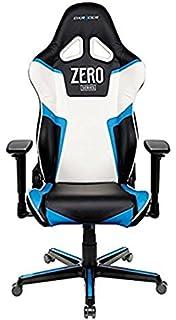 DXRacer - Silla Gaming rz118 Negro, Azul y Blanco