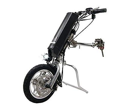 SABWAY Adaptador Motor Eléctrico Silla de Ruedas Batería Litio 250 W Handbike Handybike - Mayores Ancianos