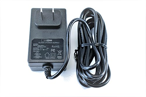 OMNIHIL Replacement AC/DC 9V 2A Power Adapter (5.5x2.1/2.5mm Plug Size) World Wide Voltage 100-240V Output of 9VDC 2A Light Weight Regulated Extra Long 8' Cord CENTER POSITIVE from OMNIHIL