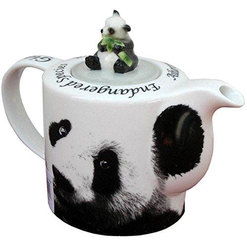 Paul Cardew Teapot - Panda Teapot by Paul Cardew