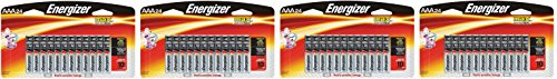 Energizer Max AAA dlGECb Premium Alkaline Batteries, 24 Count, 4 Pack by Energizer