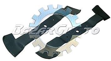 Cuchillas para Cortacésped tractor AL-KO Comfort T1000 102 cm ...