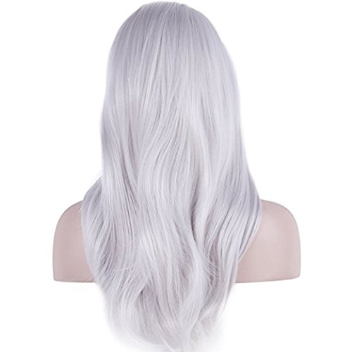 Wigs for Cosplay Long Curly Hair Anime Costume Party Wigs 28 Inch Full Head Synthetic Wavy Halloween Wigs for Women