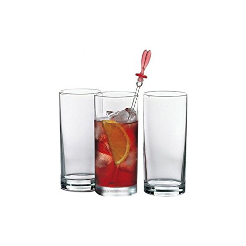 Pasabahce Glass Glass Set   Set of 6, Transparent