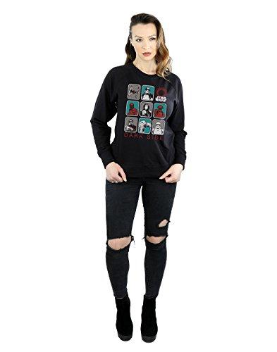 Camisa Last The Wars De Negro Entrenamiento Character Jedi Side Multi Dark Mujer Star AqzwtE