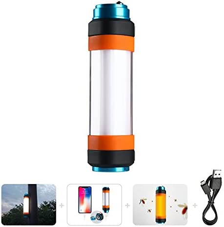 4 Pcs Portable Mini LED Camping Lantern,Ultra Bright Tent Lantern Light with Retractable Hook and 5 Light Modes for Camping,Tent,Emergency
