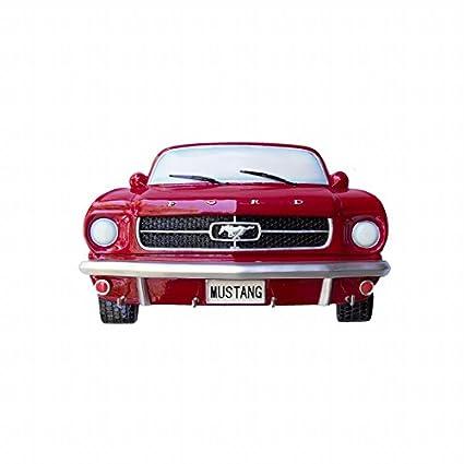 Ford 1964-1/2 Mustang - Llavero, Color Rojo: Amazon.es: Hogar