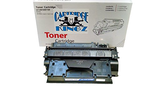Cartridge Kingz 120 Compatible Toner Cartridge for use in Canon Printers, ImageCLASS D1120, D1150, D1170, D1180, D1320, D1350, D1370. Yields up to 5,000 Pages