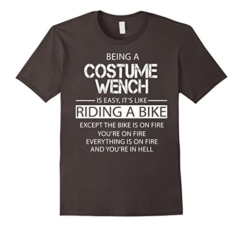 [Men's Costume Wench T-Shirt 3XL Asphalt] (Male Wench Costume)