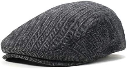 ハンチング帽 HOOLIGAN グレー/ブラック L 約60cm