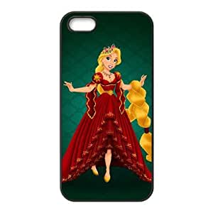 iphone5 5s Black phone case Disney Princess Rapunzel DPC8437832