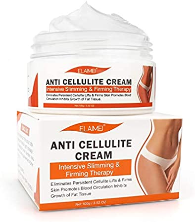 Crema caliente, Crema para adelgazar y reafirmar la celulitis extrema, Crema natural para el tratamiento de la celulitis para muslos, piernas, abdomen, brazos y glúteos, para esculpir el cuerpo