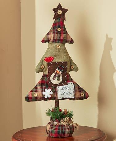 Happy Homespun Holiday Decor ( Snowman Tree (Homespun Snowman)