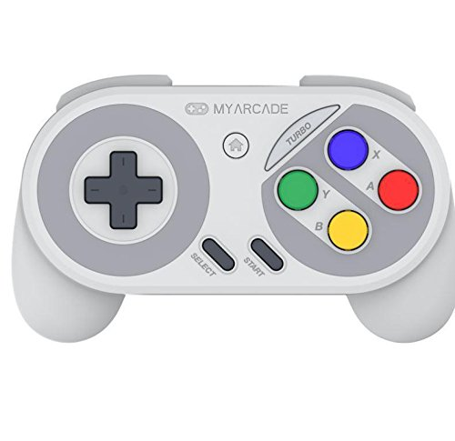 My Arcade Super Gamepad for the Nintendo SNES/SUPER FAMICOM/NES Classic Edition with Super Famicom Style Buttons