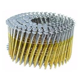 A2X092HDRWC Round Head 2-Inch x .092 x 15 Degree Hot Dip Galvanized Ring Shank Wire Collated Coil Framing Nails (3,600 Per Box) from Various Nail Brands