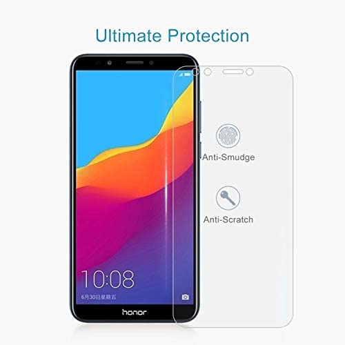 ALICEWU WJH 100 PCS 0.26mm 9H 2.5D Tempered Glass Film for Huawei Honor Play 7C