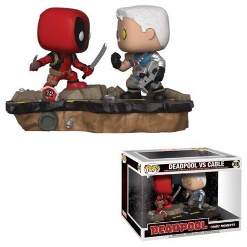 (Funko Pop Marvel: Comic Moments - Deadpool vs Cable Vinyl)