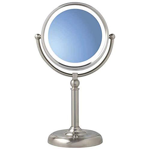 Sunter - LED Natural Daylight Vanity Mirror (1X / 10X Magnification w/ 8-Watt Bulb) -