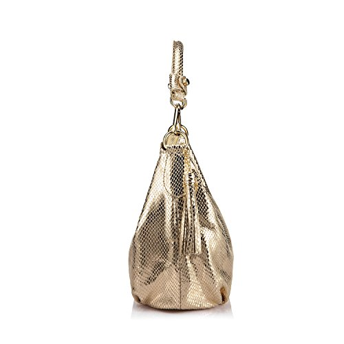 With Shoulder Leather Tassels Womens Body Bag Ladies Handbags Hobo Small Golden Cross wxqzTEUEfH