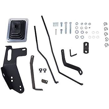 Hurst 3670006 Mastershift 3-Speed Shifter Installation Kit for Chevrolet/GMC Pick-up Truck