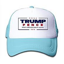 Boy's Trump For America President 2016 Flexible Mesh Hat Cap Black