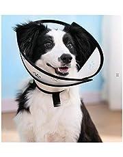 LOVE&HOME Pet Cone Elisabethansk halsband för hundar katter skydd Healing återhämtning Collar Cone Soft Edge Protect-hundar-katthalsband (storlek: Xl)