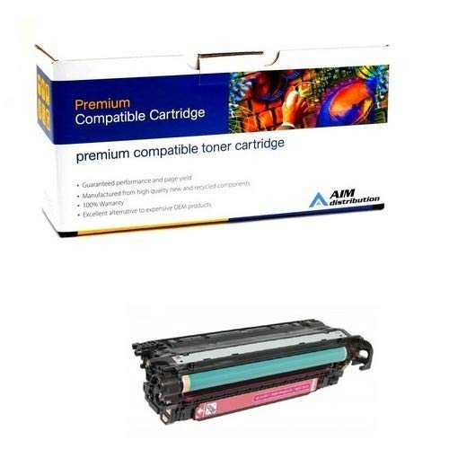 AIM Compatible Replacement for HP Color Laserjet M551/575 Magenta GSA Toner Cartridge (5500 Page Yield) (NO. 507A) (CE403AG) - Generic