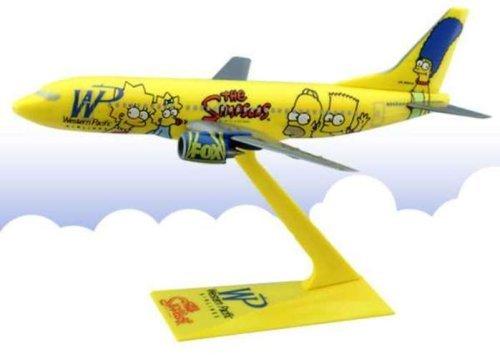 B737-300 Wp Simpsons 1/200 (Flight Miniatures Snap)