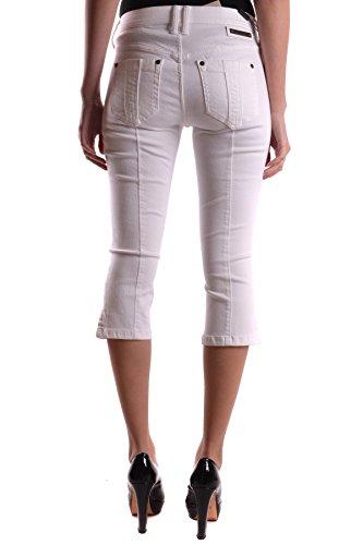 Donna Mcbi056097o Burberry Jeans Bianco Cotone qaxSC